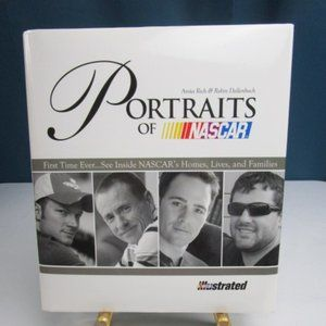 """Nascar Other - """"Portraits Of Nascar"""" Coffee Table Book"""